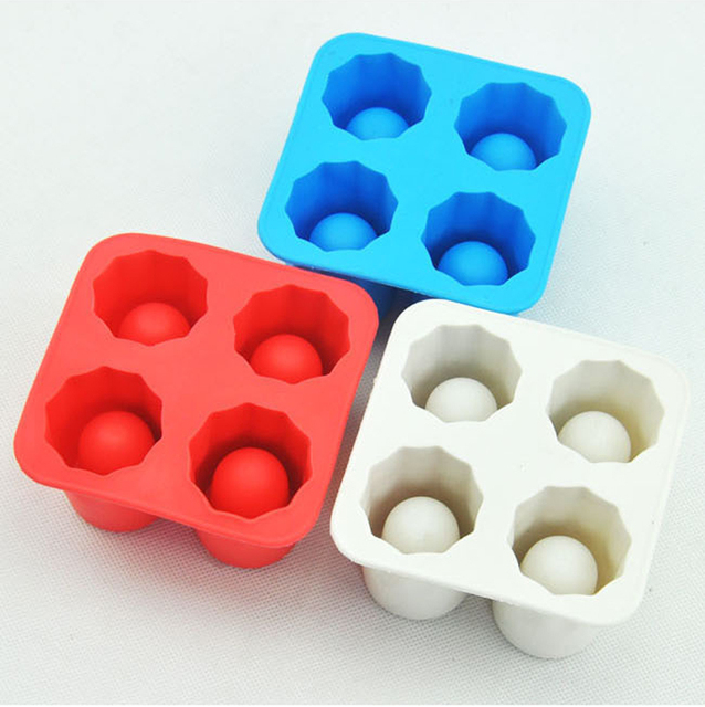 Cup Shaped Ice Cube Mold