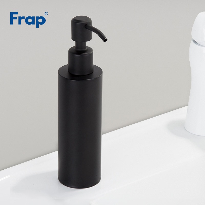 US $20.95 47% OFF|Frap Stainless Steel Liquid Soap Dispenser Kitchen Sink  Soap Box Sink Soap Dispenser Capacity Detergent Bottle Y18003-in Liquid  Soap ...