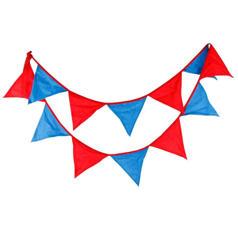 1pcs 3.2M albastru roșu dublu de culoare acasă decorare bannere de - Produse pentru sărbători și petreceri