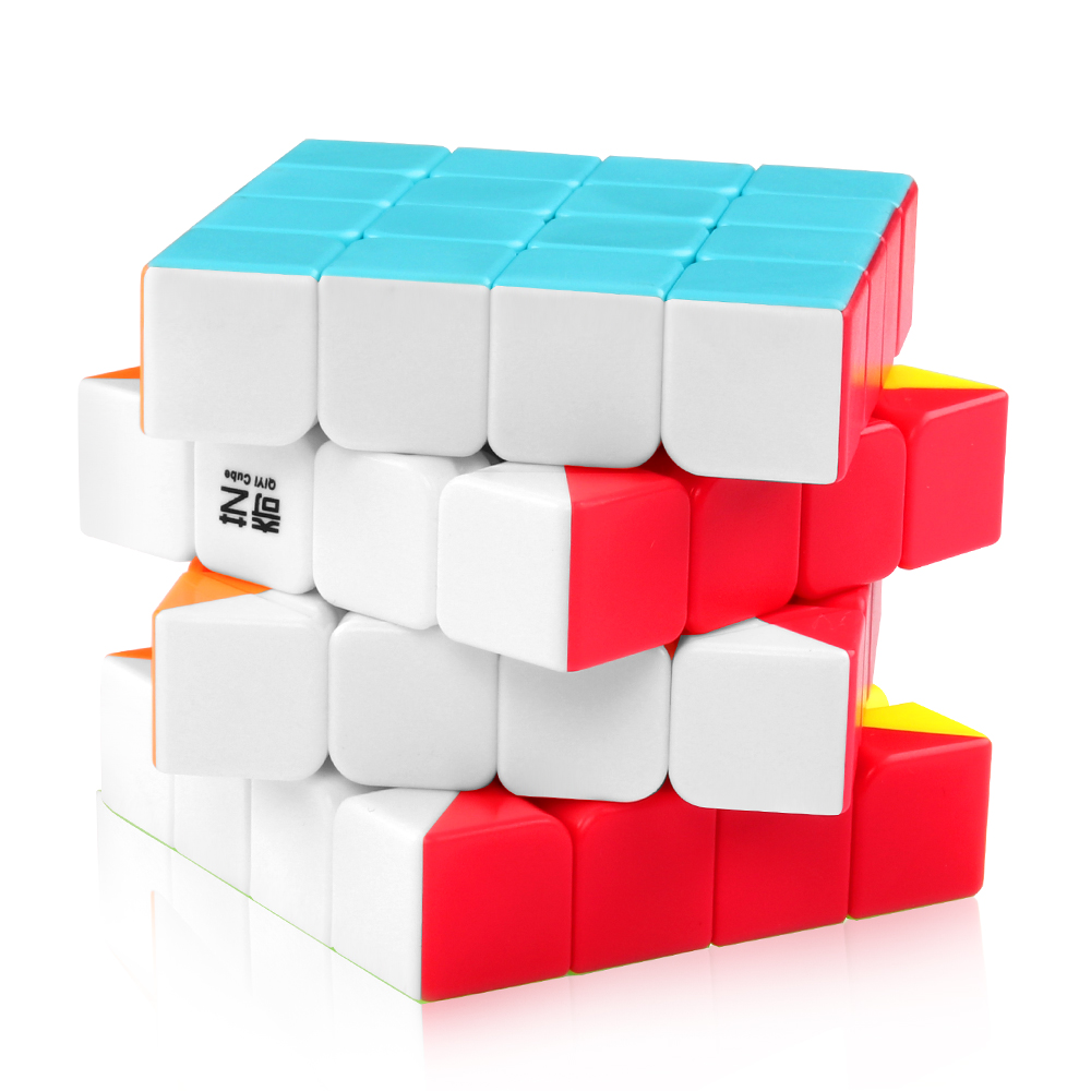 D-FantiX <font><b>Qiyi</b></font> <font><b>Qiyuan</b></font> <font><b>S</b></font> 4x4x4 Magic Cube Puzzle <font><b>4x4</b></font> Speed Cube Stickerless Toys image