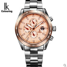 For commercial stainless steel ik automatic mechanical watch waterproof mens watch male watch multifunctional mens watch