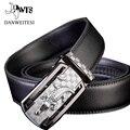 [Dwts] 2016 de lujo de estilo de la hebilla de cinturones de moda cinturones de diseño hombres de alta calidad Marca hermet Cintos Cinturon correa de cocodrilo de los hombres