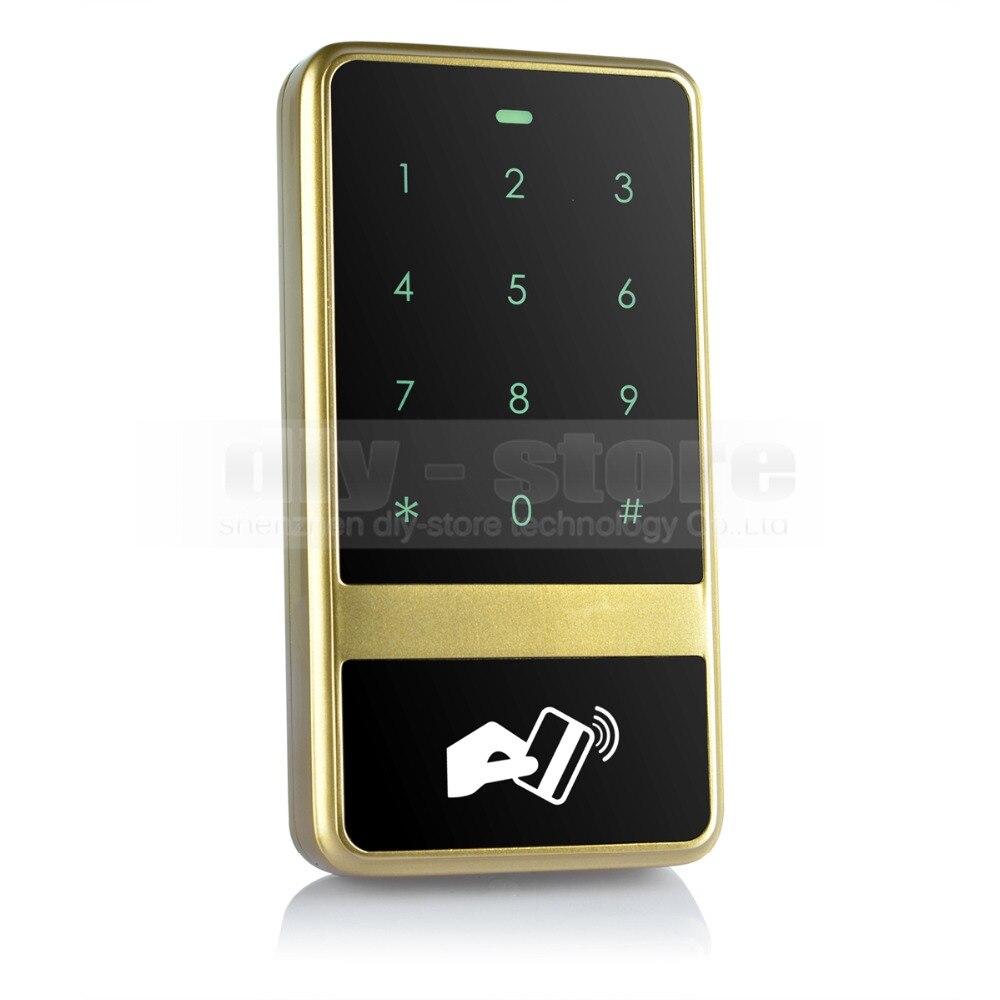 DIYSECUR 8000 Users Touch Keypad 125KHz RFID ID Card Reader Access Controller Kit For House / Office / Home Improvement usb pos numeric keypad card reader white