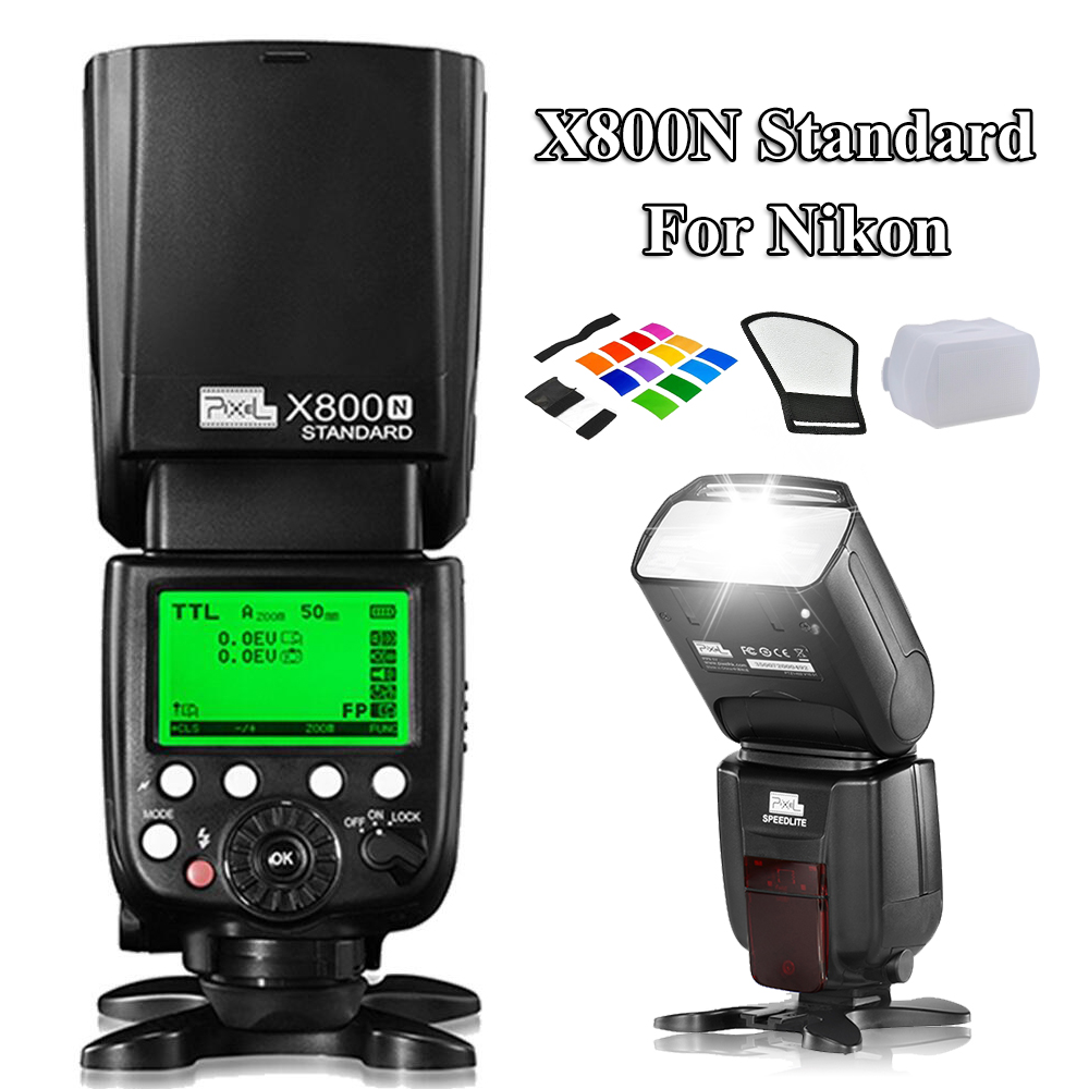INSEESI Wireless S1/S2 X800N Standard TTL HSS Flash Speedlite for Nikon d3100 d7100 d5300 d5200 DSL VS YN568EX YN565EX for nikon canon dslr camera speedlite hss 1 8000s ttl flash speedlight inseesi in586exii vs yongnuo yn565ex yn568ex yn 565ex