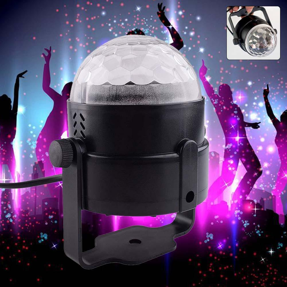 2x led rgb dj club disco party magic ball crystal effect light stage lighting led module cheap lighting effects
