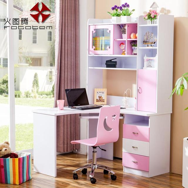 Children S Furniture Desk Bedroom Fire Desktop Computer Right Angle Corner Desks 638