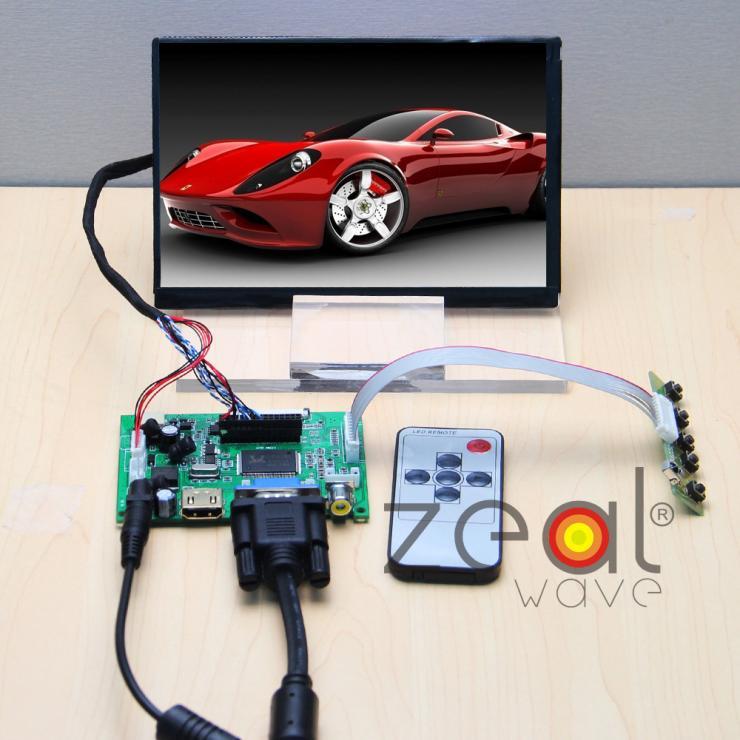 (HDMI+VGA+2AV) Controller Board+N070ICG LD1 LD3 LD4 7 7Inch TFT 1280*800 IPS LCD Display