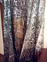 Brief Modern Quality Thickening Blackout Sheer Curtains Finished Products French Curtain