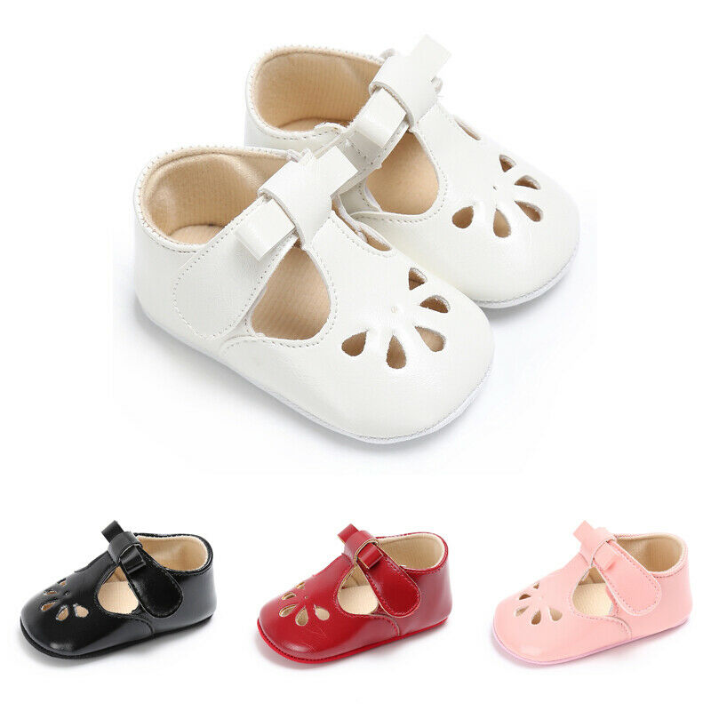 0 18M Newborn Baby Girls Shoes PU Leather Soft Sole Summer Shoes Baby Prewalker Infant Princess Girls Toddler Shoes in First Walkers from Mother Kids