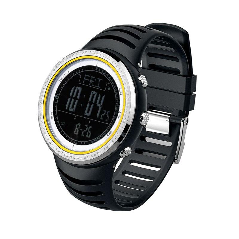 SUNROAD FR802B- Multifunctional Sports Men Watch Altimeter Waterproof Wrist Watch Barometer Compass Pedometer Watch Men 802