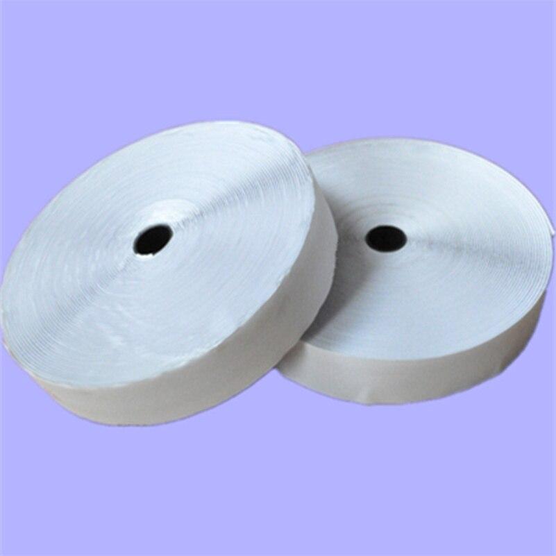 25m * 25mm width Sticky Self Adhesive magic tape sticks Hook and Loop Tape Fastener Strip Solid Black adhesive tpae AA7328