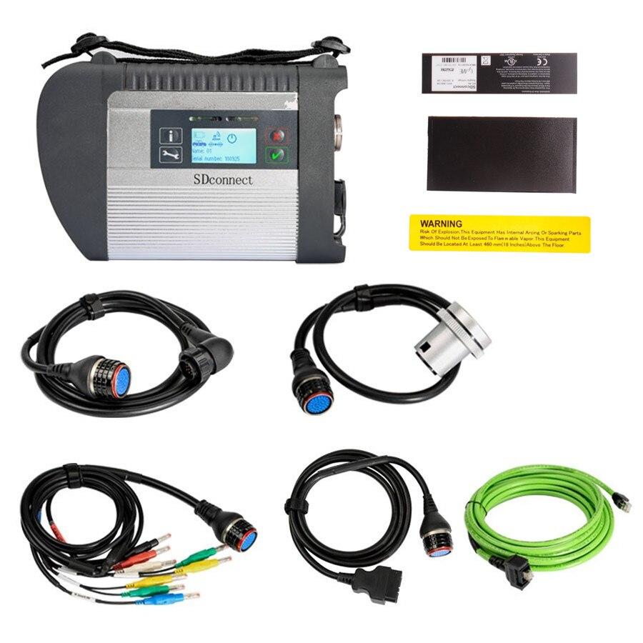 12/2019 MB Star C4 SD соединяет компактную диагностику с EVG7 планшет диагностический контроллер планшетный ПК с wifi для автомобилей и грузовиков - 2