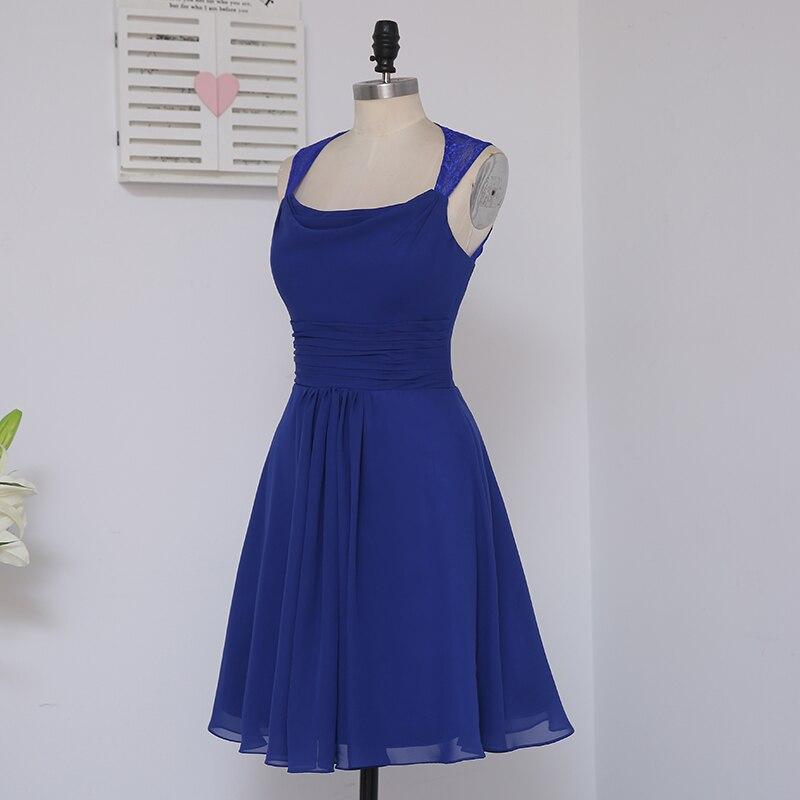 HVVLF 2019 Pigūs nuotakos suknelės iki 50 A linijos trumpo Mini - Suknelės vestuvėms - Nuotrauka 3