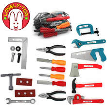 28PCS Boys Toy Kids Tools Set Repair Drill Screwdriver Ax Carpentry Play Garden Game Pretend Play For Children Educational Gifts