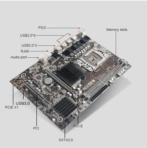 HUANANZHI X58 Материнская плата комплект компьютер Сделай Сам ЦП Xeon X5675 3,06 GHz ЦП радиатор RAM 16G(2*8G) REG ECC видеокарта GTX750Ti 2GD5