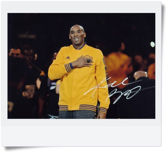 signed Kobe Bryant autographed  original photo 7  inches free shipping 08201705 signed kobe bryant autographed original photo 7 inches free shipping 08201709