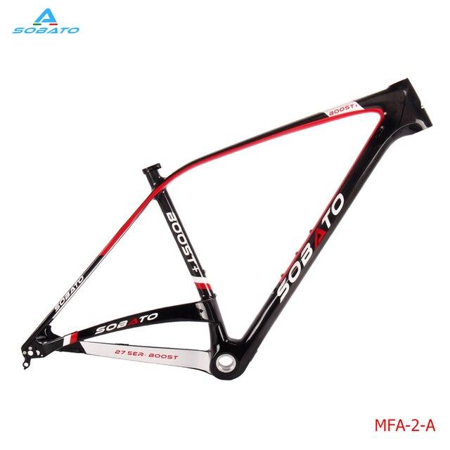 on promotion china carbon mtb frame size 27er 29er carbon mountain bike frame ud matte - Mountain Bike Frame Size