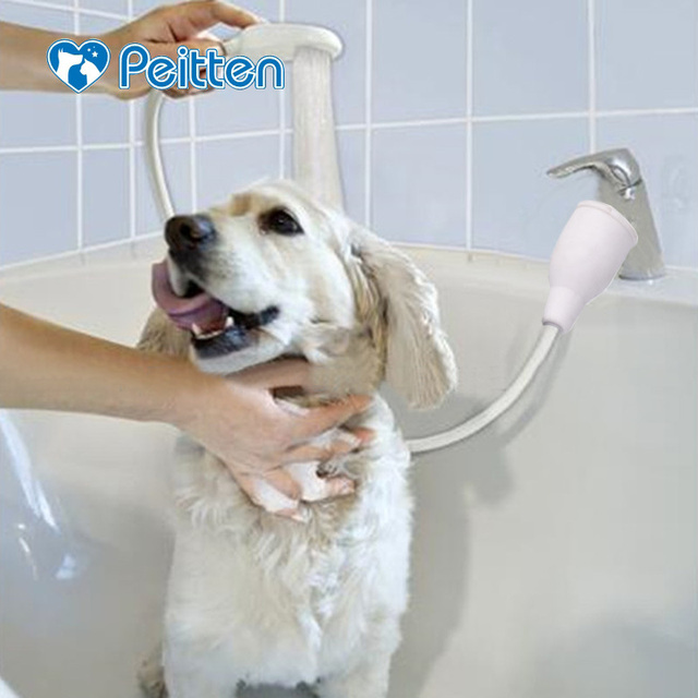 High Quality Multi Functional Pet Dog Cat Cleaning Shower Head Spray Drains  Strainer Bath Hose