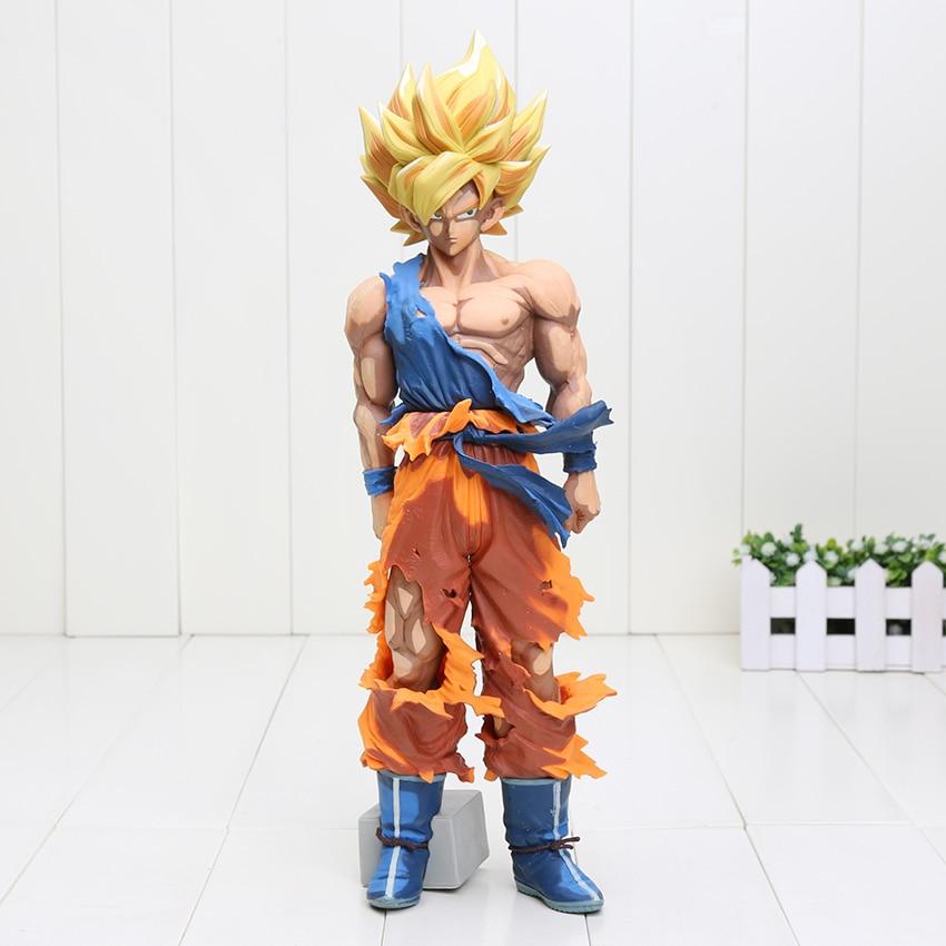 Dragonball Dragon Ball Z Super Master Stars Piece The Son Goku Gokou Colorful ver. PVC Action Figure Gohan Collectible Model Toy