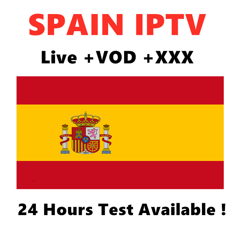 Spain IPTV Spanish France M3U Subscription Support Andorid Enigma2 Smart tv PC Mag250 in Set top Boxes from Consumer Electronics