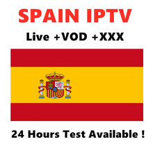 Spain IPTV Spanish France M3U Subscription Support Andorid Enigma2 Smart tv PC Mag250