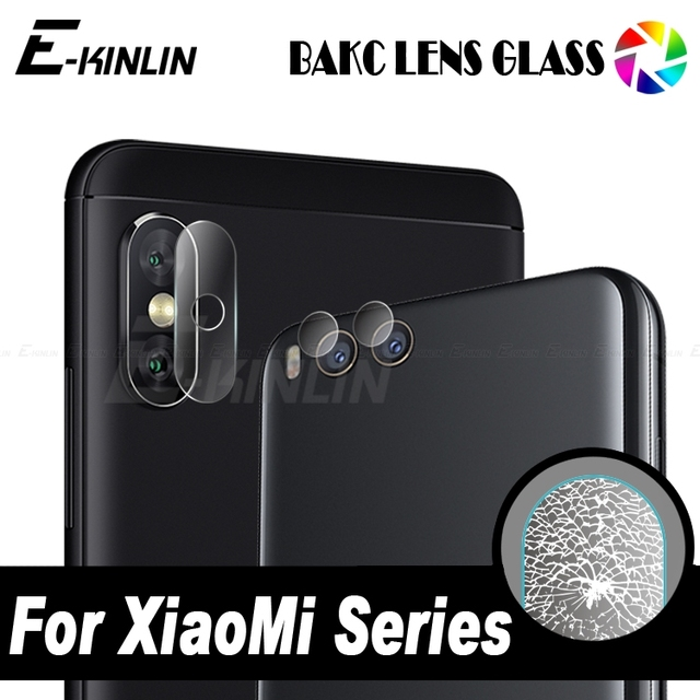 low priced 78120 f5441 US $0.56 42% OFF|Back Camera Lens Tempered Glass For Xiaomi Mi A2 Lite A1  Note 3 Redmi 6 Pro 6A 5X 5S Plus M6 Mi6 Protector Protective Film-in Phone  ...