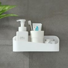 Bathroom Non-Perforated Shelf Kitchen Geometric Shape Plastic Wall Hanging Super Load-Bearing
