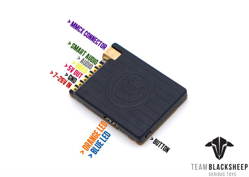 Team Blacksheep TBS 1.2GHz VRX Notch Filter 868//915 MHz
