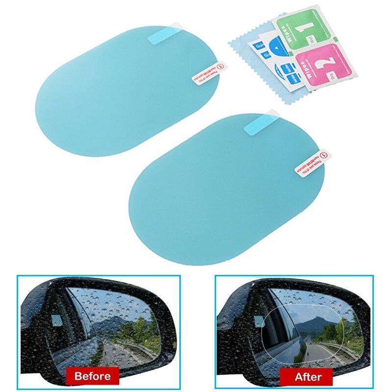 Car-Rearview-Mirror-Film Accessories Clear-Cover Auto-Mirror-Sticker Retrovisor Anti-Scratch