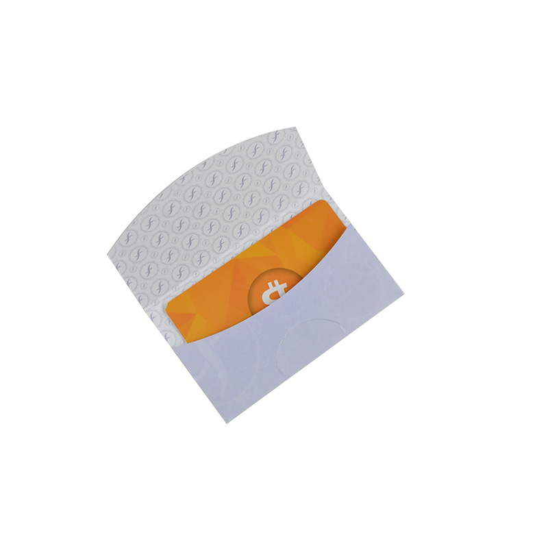 Zuoluo Hot Sale Custom Logo Paper Key Card Envelopes Printing From Wuhan