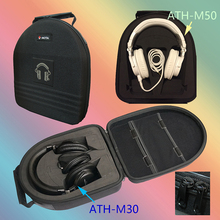 V-MOTA TDG Headphone suitcase boxs For Audio-technica ATH-M50X ATH-M40X ATH-M50S ATH-M20X ATH-M30(headset suitcase)