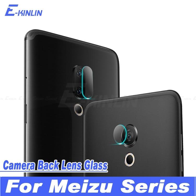 Back Camera Lens Protective Transparent Tempered Glass Protector Film For MeiZu 15 Plus Lite M8C Pro 7 M6T M6 Note M6S M5C E3