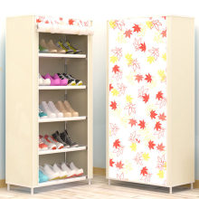Maple Leaf Candy Kleur Schoen Rekken Kast Schoenen Rack Space Saver Boot Organizer Plank Meubelen DIY Montage Non- geweven(China)
