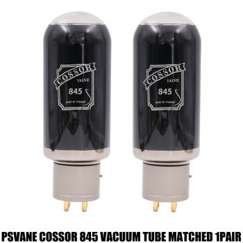 1PAIR 845 VACUUM TUBE Psvane COSSOR Series 845 Tubes for Vintage Audio Amplifier DIY Matched And Tested 6months Warranty Time
