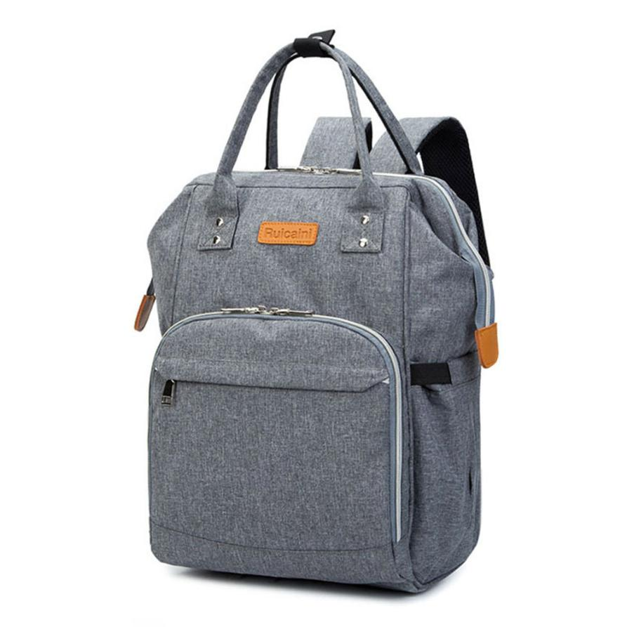 Multi-function Mommy Diaper Bags Backpack Baby Thermal Bag Portable Mother Nappy Tote Pack Wholesale Drop Shipping #T 6 colors free shipping multi function inner container hobos nappy diaper baby diaper predelivery bags backpack hanging page 9