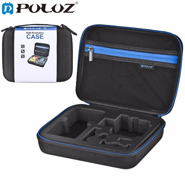 PULUZ for GoPro Accessories Waterproof Carrying Travel Case portable bag stocker for GoPro HERO5 4 Session HERO5 4SJ4000 23x17x7