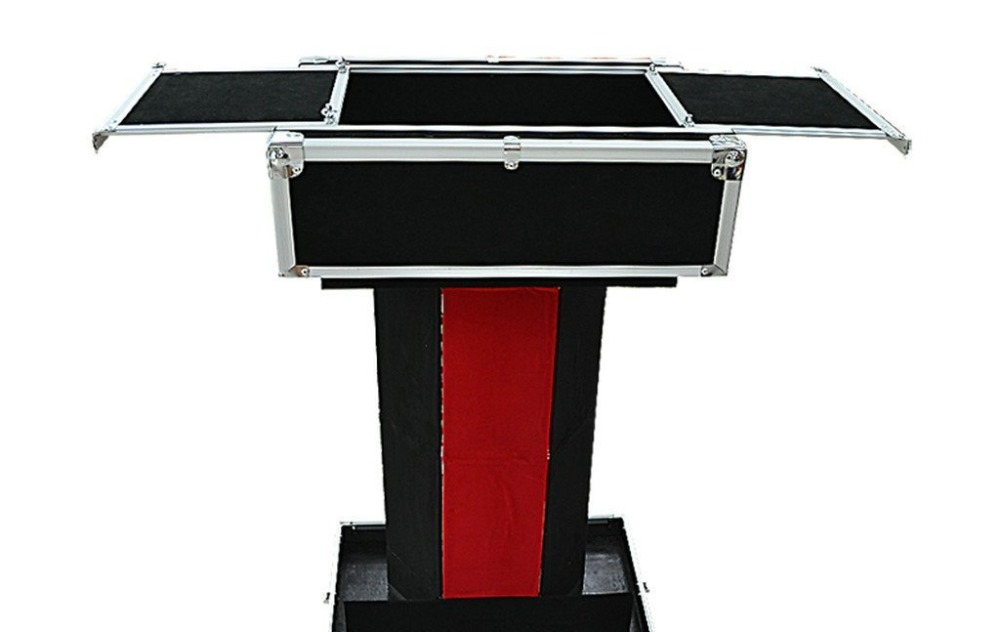 Magic Tricks/Pop Up Performers Case/Folding Table/ Magic Illusion/Magic Props/Stage Magic aluminum alloy magic folding table blue black bronze color poker table magician s best table stage magic illusions accessory