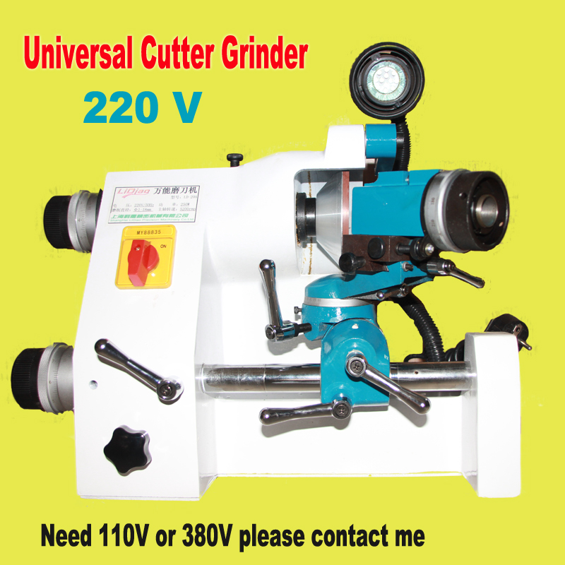 New 220V YLD20A Universal cutter grinder sharp V bits milling grinding Router bits lathe universal tool grinding machine erm20 end milling cutter 4 20mm tungsten grinders universal grinder automatic grinding machine 220v 1pc