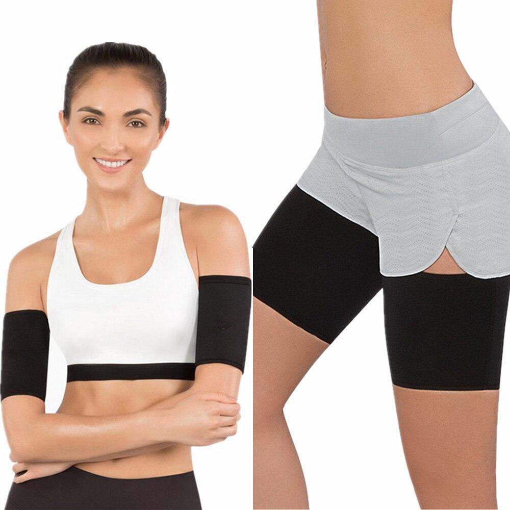 Shapers Hot Leg Sleeves 2018 New Hot Arm Shapers Women Slimming Weight Loss Arm Body Shaper Womens Shapewear Legs Trainer Fitness Belts