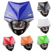 GOOFIT H4 LED Universal 12V 35W Motorbike Headlight Head Lamp for Yamaha Suzuki Honda Kawasaki KTM E033-781