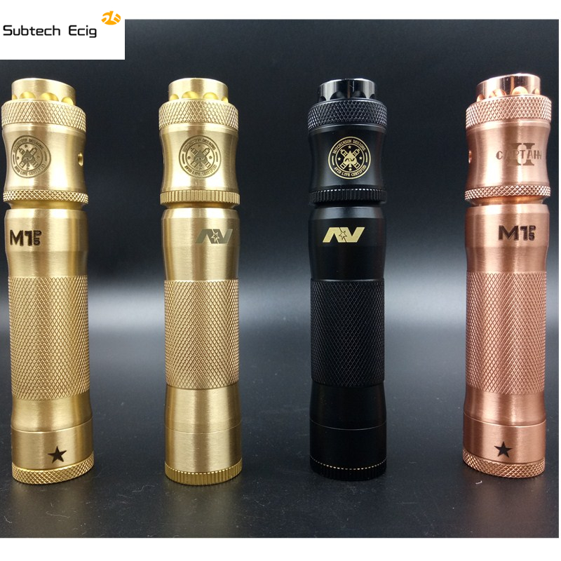 Timekeeper AV ABLE Edition Mechanical Mod+AV Comp Lyfe Battle RDA Free Ship US