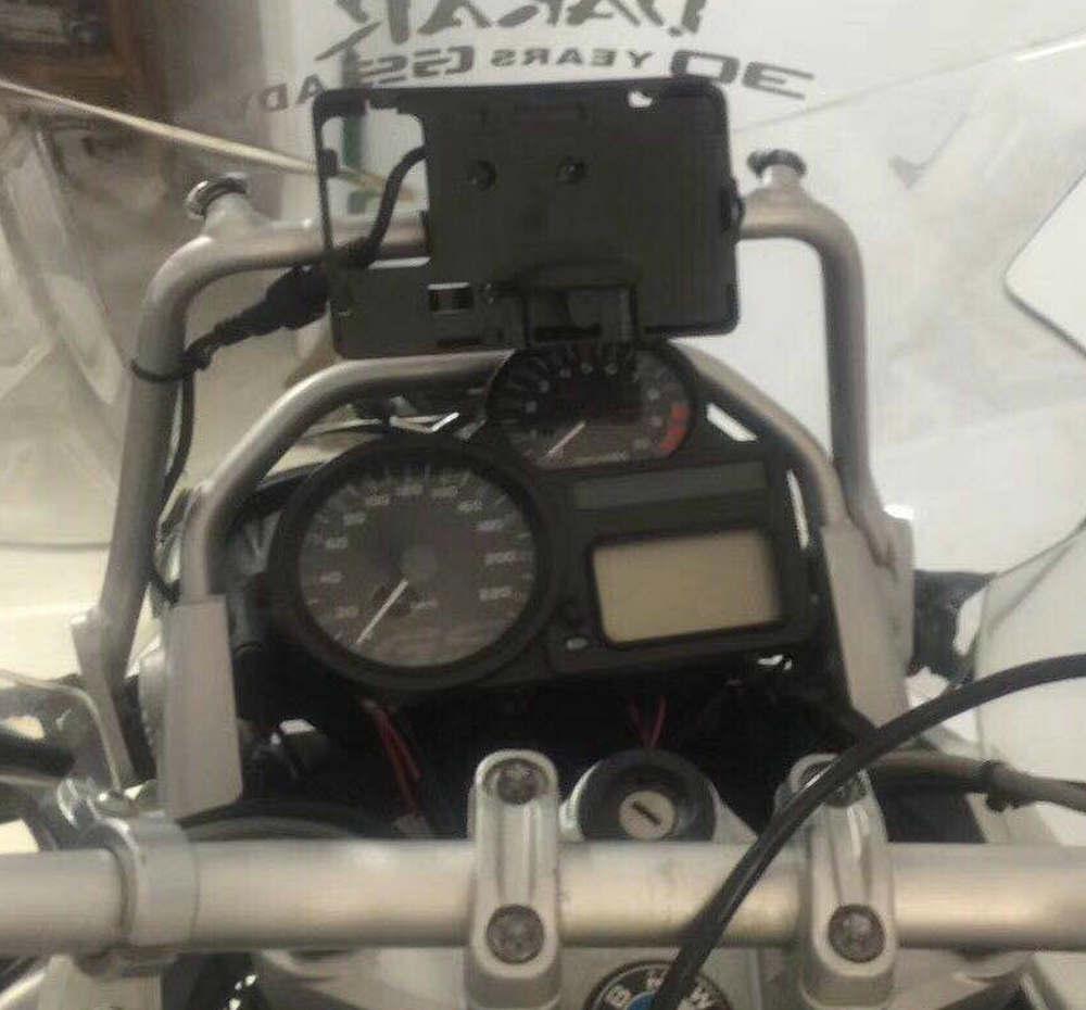Bike GP handy-Navigation halterung USB telefon lade für BMW R1200GS ADVENTURE 2006-2013 ölkühler