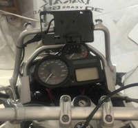 Bike GP Mobile Phone Navigation Bracket USB Phone Charging For BMW R1200GS ADVENTURE 2006 2013 Oil