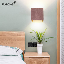 Nordic Style Wall Lamp Bedroom Bedside All Aluminium Decor Wall Light for home Corridor Aisle Wall Sconce Lights & Lighting цена
