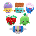 9 Styles Cookie & Fruit and Icecream Shop Item Plush Toy Dolls & Stuffed Toys