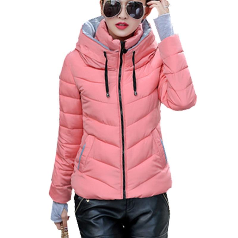 100% Waar Hooded Plus Size Nice Koreaanse Lange Mouwen Warm Licht Down Gewatteerde Winterjas Vrouwen Parka Voor Vrouwen Winterjas Vrouwen Zy1164