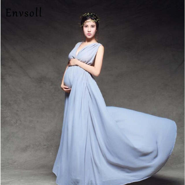 1f505079d00 Maternity Photography Props Pregnant Dresses Maternity Dresses Photo Shoot  Wedding Dress Maternity Clothes For Pregnant Women. placeholder ...