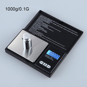 0.1-1000G Mini Precision Digital Scale Weed Coin Jewelry Pocket Tool g/oz/ozt/dwt/ct/gn Units--M25