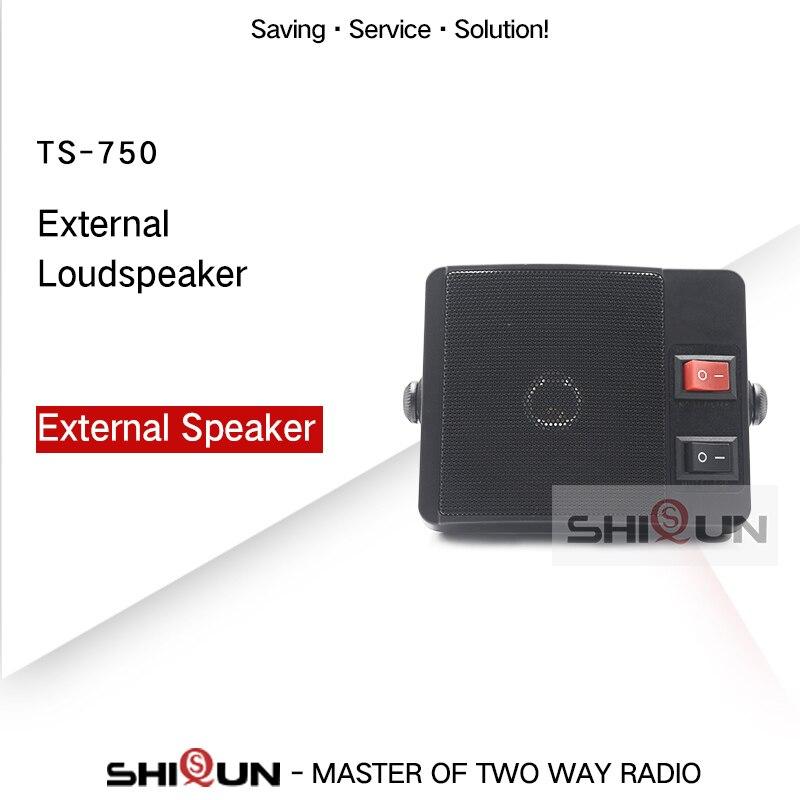 TS-750 External Speaker For Car Walkie Talkie CB Radio TS 750 External Loudspeaker For Mobile Radio External Speaker Car Radio
