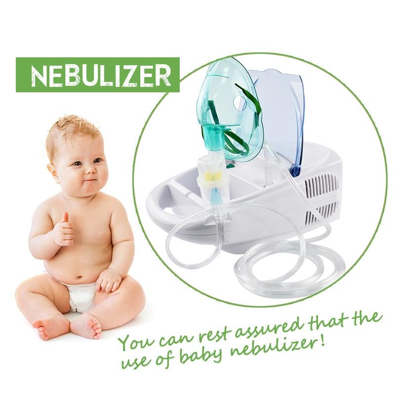 купить Atomization Inhaler Allergy Relief Respiratory Therapy Medicine Aerosol Medication Inhale Nebulizer Compressor Nebulizer